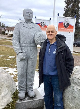 Barry's Bay, Canada: Jan's statue