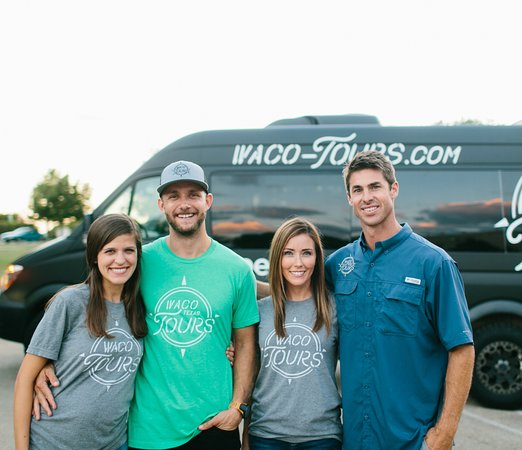 Waco, TX: Owners Rachel and Luke Whyte, Rachel and David Ridley