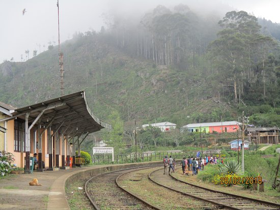 ‪‪Haputale‬, سريلانكا: Idalgashinna station‬
