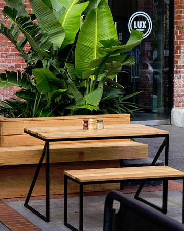 New Outside Seating