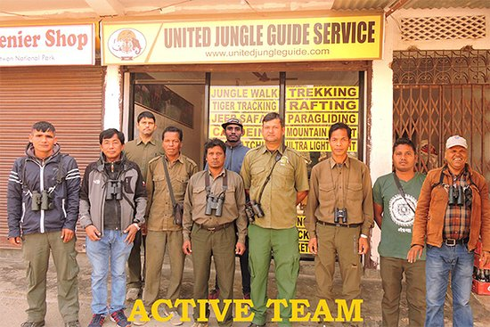 Chitwan National Park, Nepal: Team