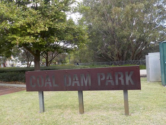Woodbridge, Australien: Park Sign