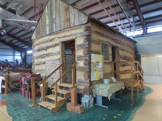 Delaware Agricultural Museum and Village: Oldest existing log cabin in U.S.