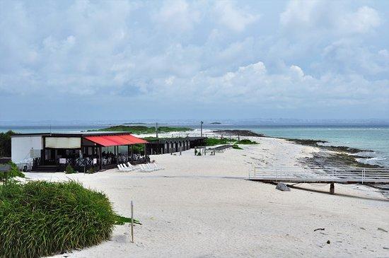 Nagannu Island: Ilhas de areias brancas, mas com pedaçõs de corais