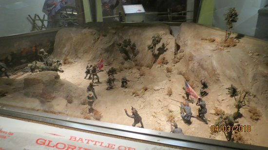 Fort Garland, CO: Many dioramas