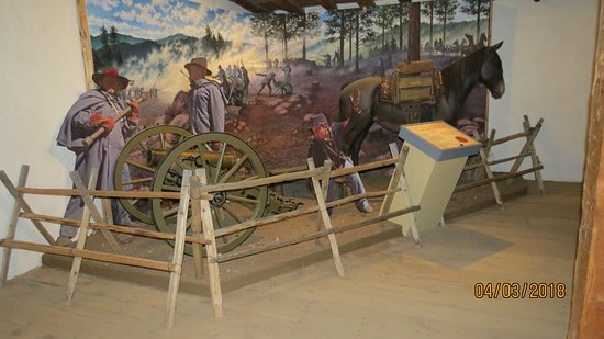 Fort Garland, CO: Life size diorama