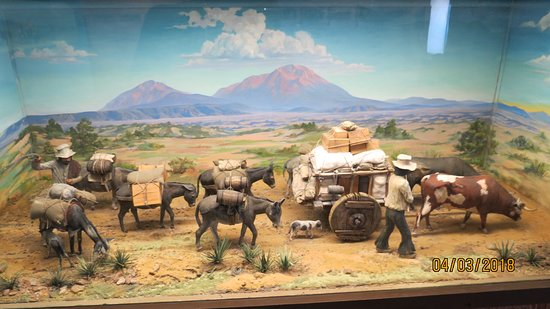 Fort Garland, CO: Diorama