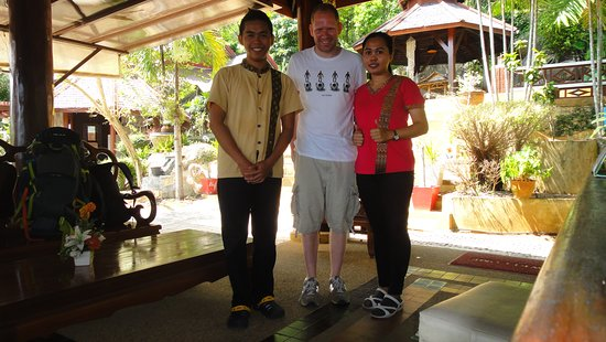 Searine Samui Boutique Resort : Happy Guest form Germany the lovely Staff..