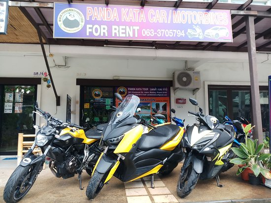 Panda Kata Motorbikes for Rent