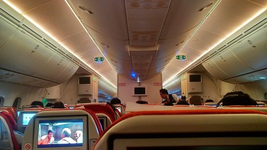 Flight status display - Picture of Air India - TripAdvisor