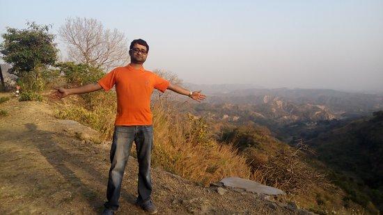 Hariana, India: Looking down