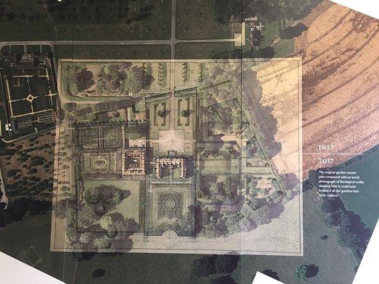 Barrington Court: Map of the Gardens