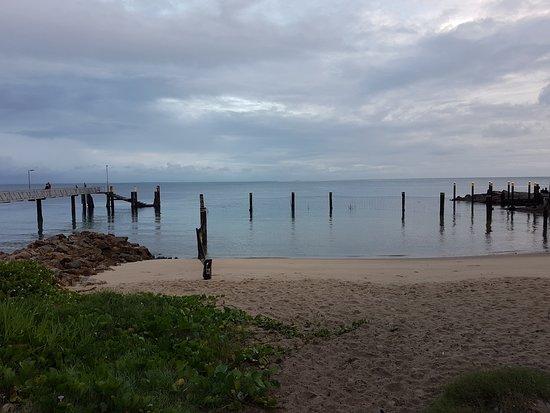 Amity, Australia: jetty and swim enclosure