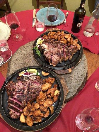 La Spada: Bistecche alla fiorentina di scottona da 1,6kg