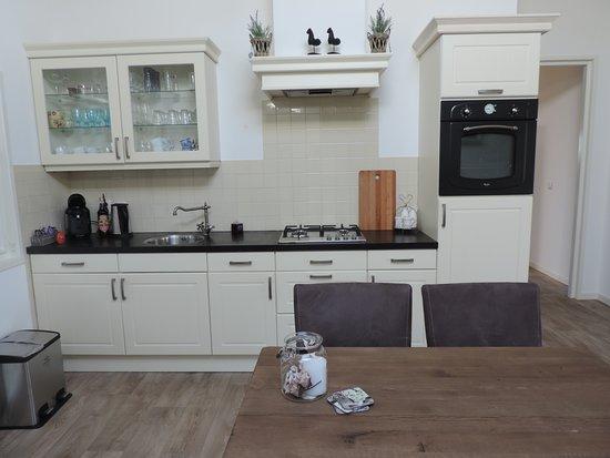 Hoonhorst, Nederland: Keuken, ter beschikking voor de gasten.