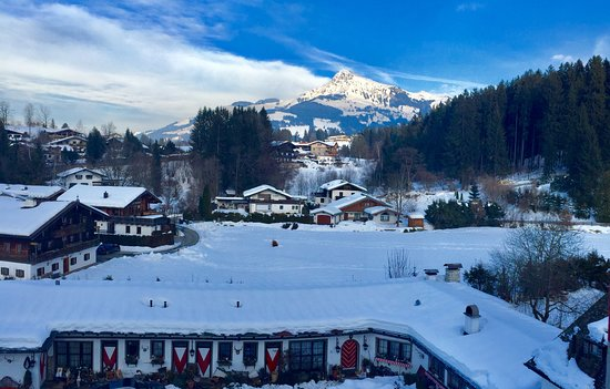 Reith bei Kitzbuehel, Austria: View towards Kitzbuhel