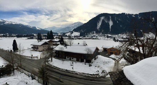 Reith bei Kitzbuehel, Austria: Views to Kirchberg