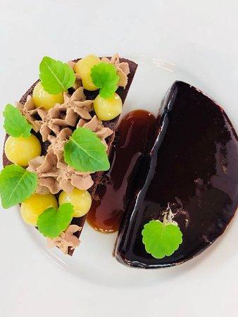 Albaret-Sainte-Marie, Francja: Dessert : Le Chocolat