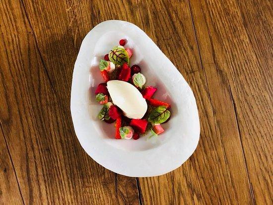 Albaret-Sainte-Marie, Francja: Dessert : La Fraise