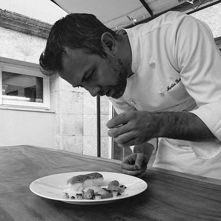 Albaret-Sainte-Marie, Francja: Notre Chef Martin Berger
