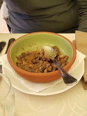 Cortaccione, Italy: Coratella d'agnello