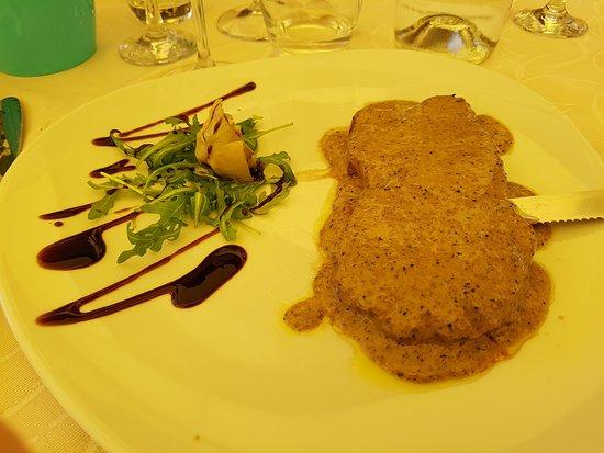 Cortaccione, Italy: Filetto tartufato