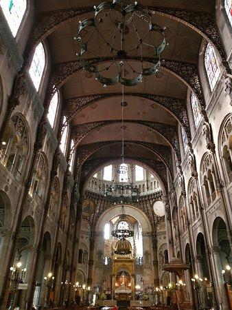 Saint Augustin Church: Church Interiors.