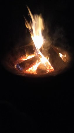Forton, UK: Fire Pit