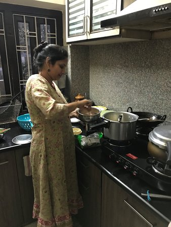 Virasat Experiences: Our meal being prepared