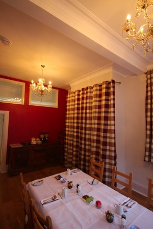 Kinlochleven, UK: Dining room