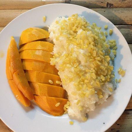 Best Thai Food, Best Sticky Rice Mango