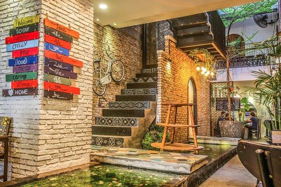 Prei Nokor # Unique 108 yrs old Hostel