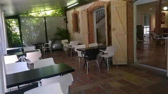 Gimont, Francja: salle de restaurant