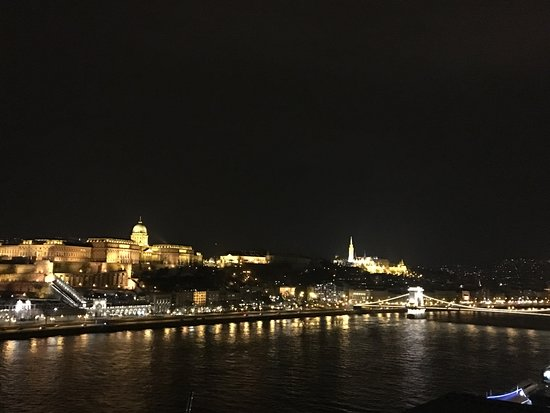Budapest Marriott Hotel: view from the executive lounge