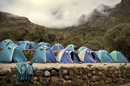 Pacha Expeditions: Campamento inca trail