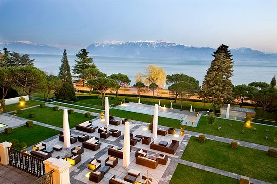 Lobby Lounge au Beau-Rivage Palace