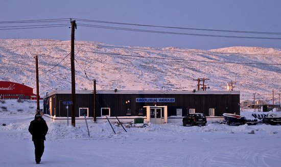 格陵兰岛康克鲁斯瓦格镇照片