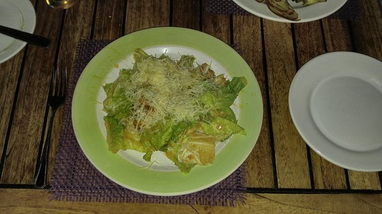 El Pegaso: Caesar salad - one of the best anywhere!