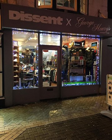 Scarborough, UK: Christmas at Dissent