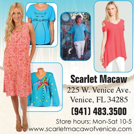 Scarlet Macaw Resort Wear