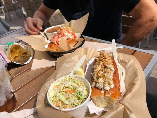 Crab Roll - Picture of Lobster West, Coronado - TripAdvisor