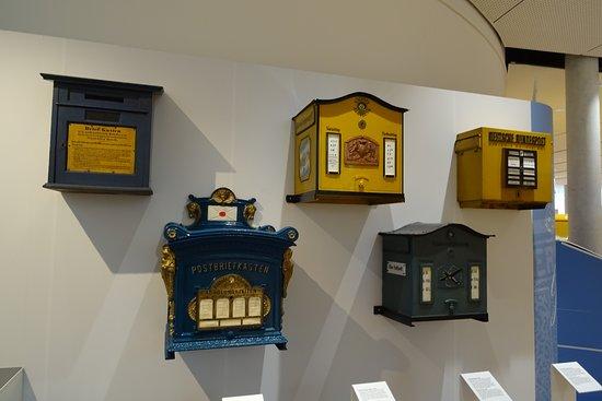 Museum fur Post und Kommunikation: Buzones de correos