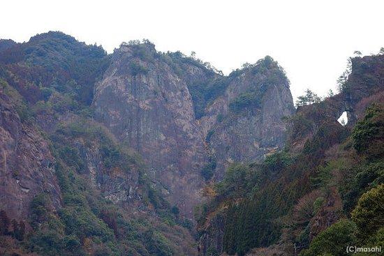 Yame, Japan: けほぎ橋 幸せの鐘 ハート岩ビュースポット
