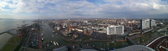 Viewing Platform SAIL City: Panoramafoto