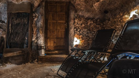 Stara Lesna, Σλοβακία: Relaxing salt cave