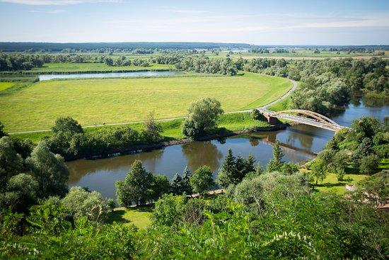 Schoeneberg b. Angermuende, Alemanha: Ausblick in den Nationalpark Unteres Odertal