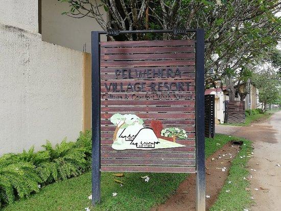 Pelwehera Village Resort : Night stay 4th April 2018