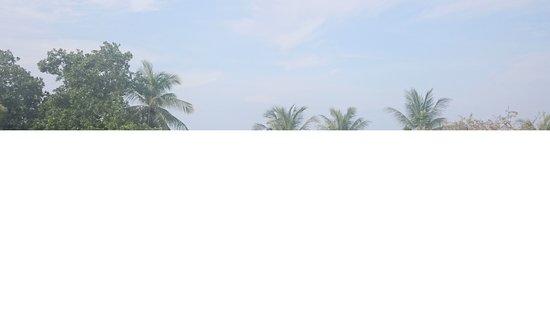 Malibest Resort: Utsikten från rum 201