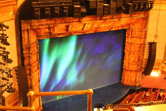 Frozen on Broadway: View from the Balcony, Row C