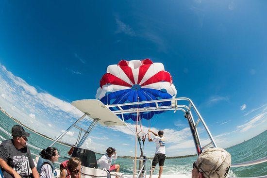 Cocoa Beach Parasail Inflation Sensation